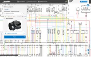 Schematy elektryczne w Autodata Online